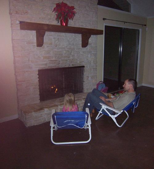 Christmas Austin 1 fire