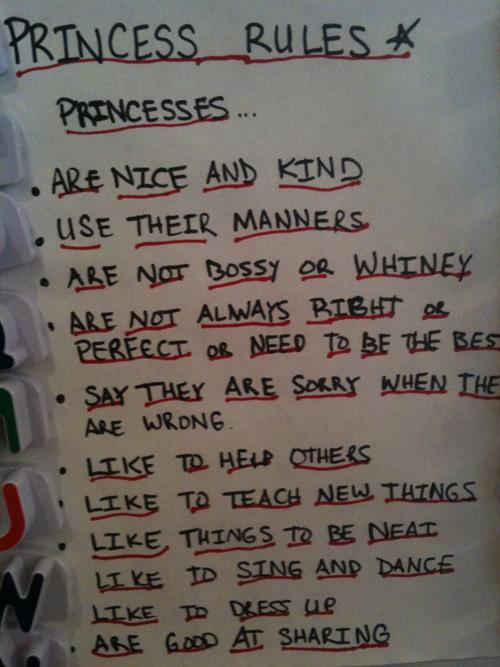 PrincessRules